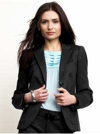 Sleek Flap Pocket Blazer from Banana Republic