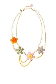Sweet Petunia Necklace