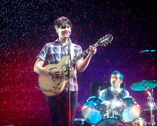 Vampire Weekend performed on July 31, 2009 at APW