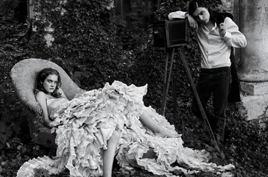Alice and Carroll (Natalia Vodianova and Olivier Theyskens)
