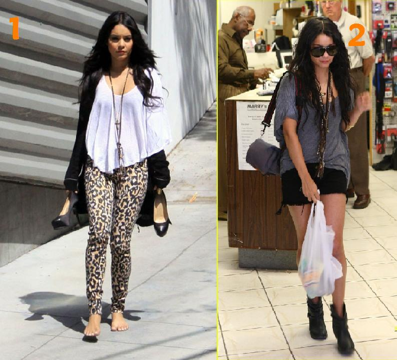 vanessa hudgens casual look. Her casual-style lookbook: